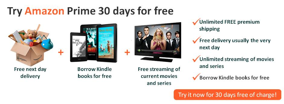 Try Amazon Prime 30 days for free